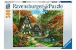 10214792 - Ravensburger Cottage in Autumn  500p