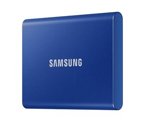 MU-PC1T0H/WW - Samsung Portable SSD T7 - Blue - 1TB
