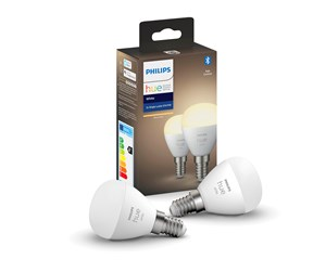 929002440602 - Philips Hue White E14 Kronepære - BT - 2-Pack