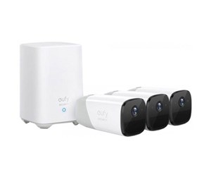 T88523D2 - Eufy Cam Pro 2 Kit with 3 Cameras and Homebase