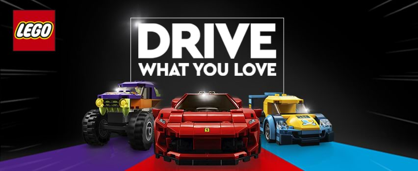 LEGO Drive What You Love
